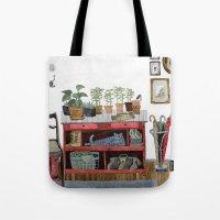 Cozy Entryway Tote Bag