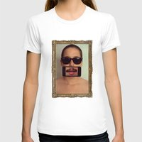 mustache T-shirts featuring mustache~ by Michal