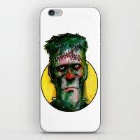 Frankensteins Monster is tired iPhone & iPod Skin