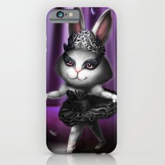 Black swan bunny iPhone 6s Slim Case