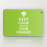 Keep Calm And Eat Your V… Laptop & iPad Skin