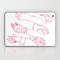 Classic Horror Hands (Red Line) Laptop & iPad Skin