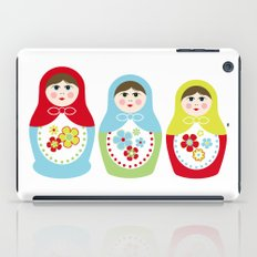 Matryoshka Doll 1 iPad Case