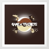 Game Of Trainers Art Print
