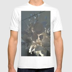 MoMa Broken Plates White Mens Fitted Tee SMALL