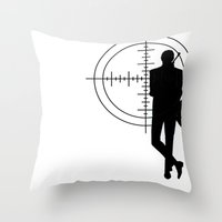 Double Oh Target... Throw Pillow