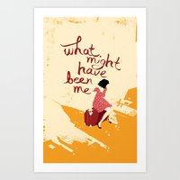 What Might Have Been Me Art Print