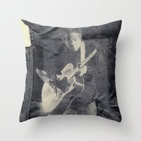 M. Ward Throw Pillow