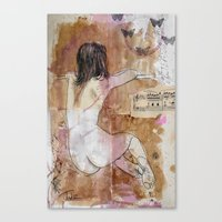 THINKING OUT LOUD Canvas Print