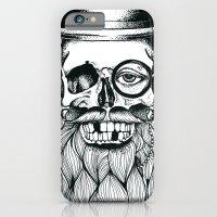 Mr. Skull Beard iPhone 6 Slim Case
