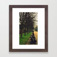 take a rest Framed Art Print