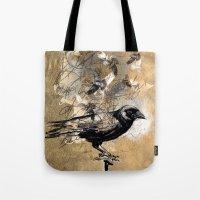 crow's soul Tote Bag