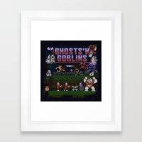 Ghosts n' Goblins Framed Art Print