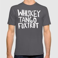 Whiskey Tango Foxtrot x WTF Mens Fitted Tee Asphalt SMALL