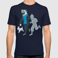 The Literal Adventures O… Mens Fitted Tee Navy SMALL