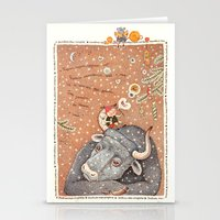 The Year Of OX  Stationery Cards