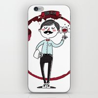 Ooh La La - The Wine Is … iPhone & iPod Skin