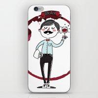 Ooh La La - The Wine Is … iPhone & iPod Skin
