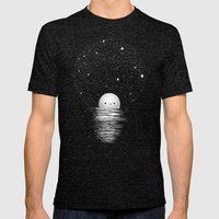 Natural Light Mens Fitted Tee Tri-Black SMALL