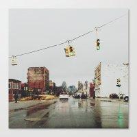 Gratiot Ave - Detroit, MI Canvas Print