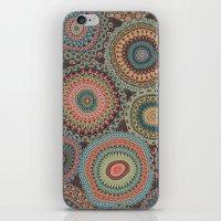 Boho Patchwork-Vintage colors iPhone & iPod Skin