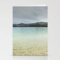 Bermejales Lake. Storm D… Stationery Cards