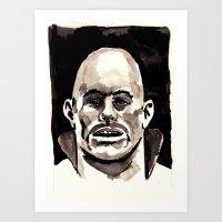 driver mask Art Print