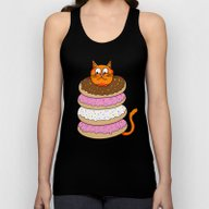 More Cats & Donuts Unisex Tank Top
