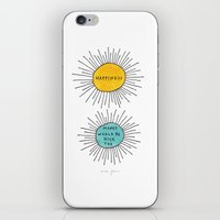 Happiness / Money Would … iPhone & iPod Skin