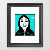 She's Got…Hungry Eye… Framed Art Print