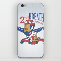 Second Breath iPhone & iPod Skin