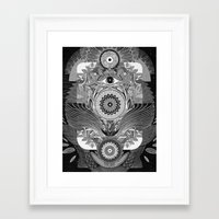 The Loud & Silent Framed Art Print