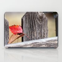 On The Fence iPad Case