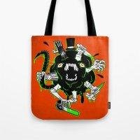 Monster Rumble! Tote Bag