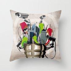 Le troisième oeil Throw Pillow