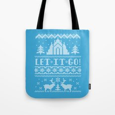 Let It Go Sweater Tote Bag