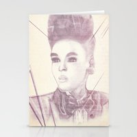 Shattering The Mold - Janelle Monae Stationery Cards