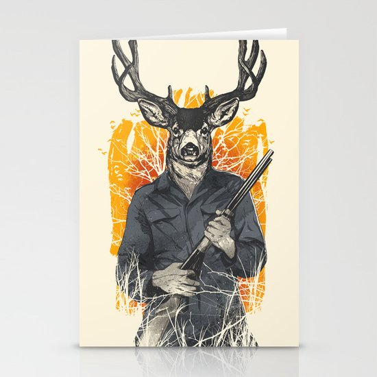 Hunting Season Stationery Card