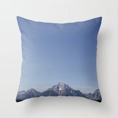 TETONS Throw Pillow