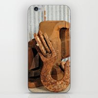 Hook and Vise iPhone & iPod Skin