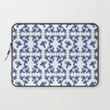 Violet Flowers Pattern Laptop Sleeve