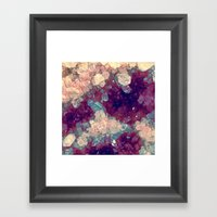 Raw Quartz Framed Art Print