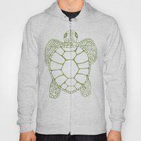 Sea Turtle Paisley  Hoody