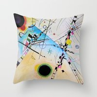 Kandinsky Reimagined  Throw Pillow