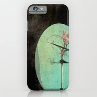 iPhone & iPod Case featuring The Tale of a Weathervane by Bella Blue Photography