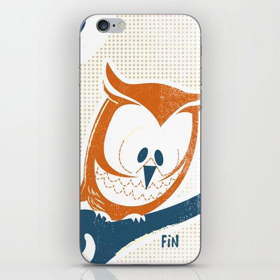 Little Owlet in a Tree iPhone & iPod Skin