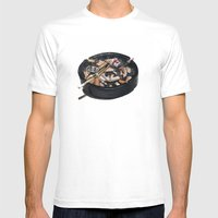 Writer's Ashtray Mens Fitted Tee White SMALL