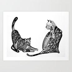 KKats. Art Print