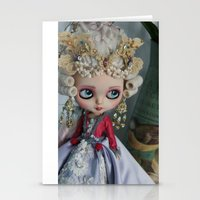 BAROQUE MARIE ANTOINETTE BLYTHE ART DOLL PINK Stationery Cards