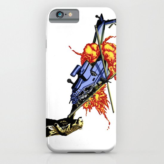 Bear vs. Apache iPhone & iPod Case